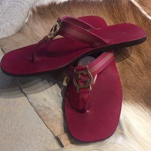 Gucci Shoes - ❌SOLD ❌SALE❗️GorG  Hot Slides in Great Cond s 6.5